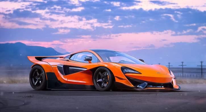 Intip Keganasan dan Spesifikasi Mobil Sport McLaren 600LT