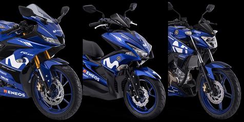 Varian Motor Yamaha Terbaru Yang Dapat Livery MotoGP