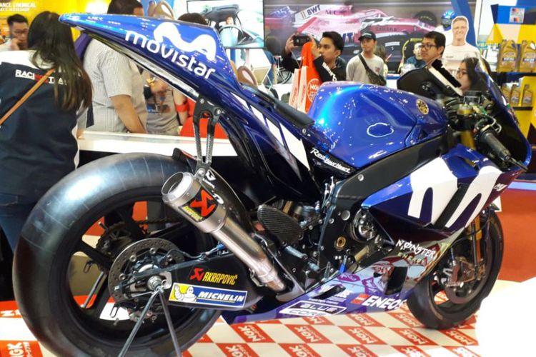 Yamaha YZR-M1 Dipamerkan Di GIIAS 2018
