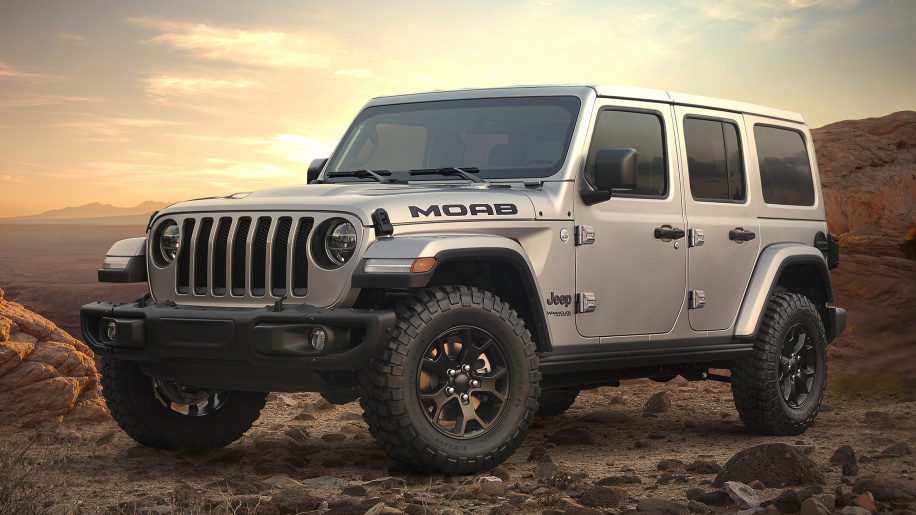 Jeep Perkenalkan Seri Wrangler Moab Edition 2018