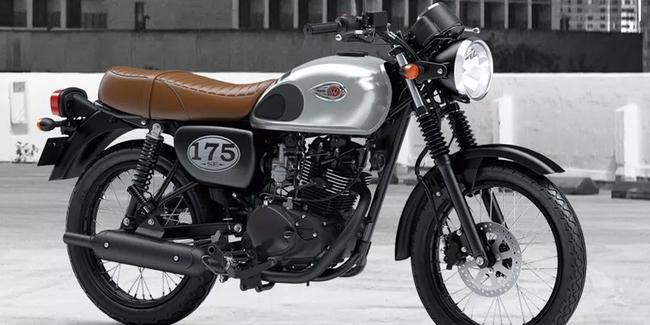 Kawasaki W175 Laku Keras - Penjualan Tetap Indent