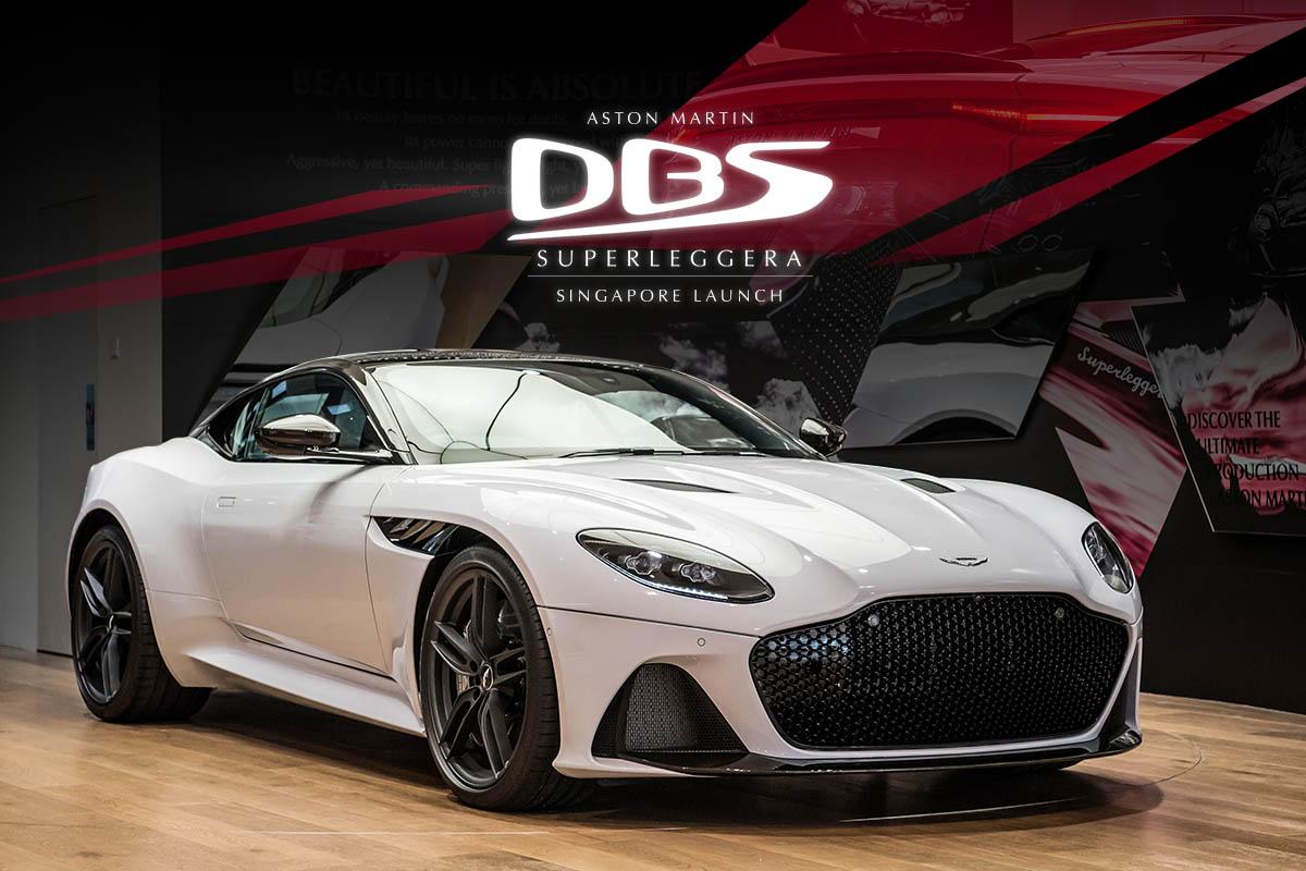 DBS Superleggera - Mobil Sport Baru Dari Aston Martin