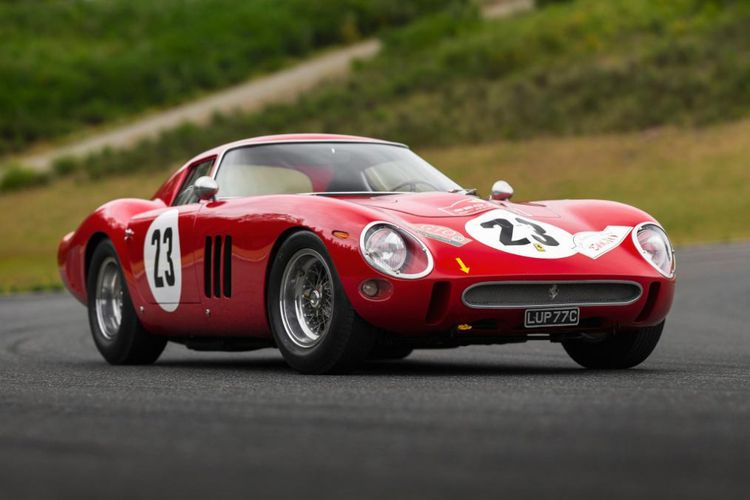 Harga Ferrari GTO 250 1962 Mencapai 638 Miliar Rupiah !