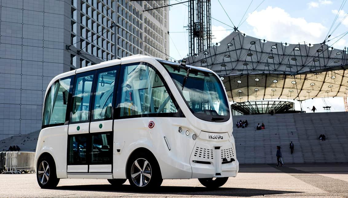 Navya - Mobil Dengan Sistem Navigasi Tanpa Sopir