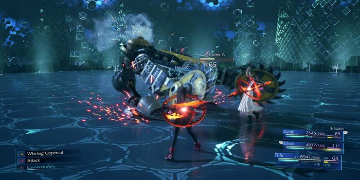 Resiko, Hadiah Dan Optimasi Materia Sistem Kombat Final Fantasy 7 Remake